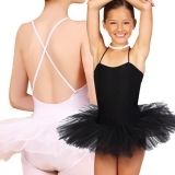 Camisole tutu dress with 3 layers tulle
