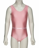 Sleeveless Leotard with Belt for Children